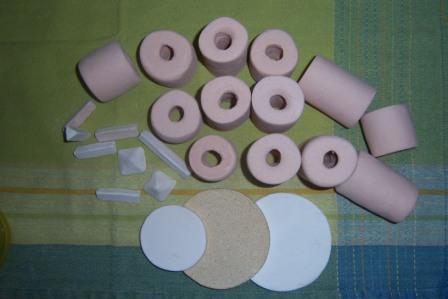 Placas para horno de ceramica
