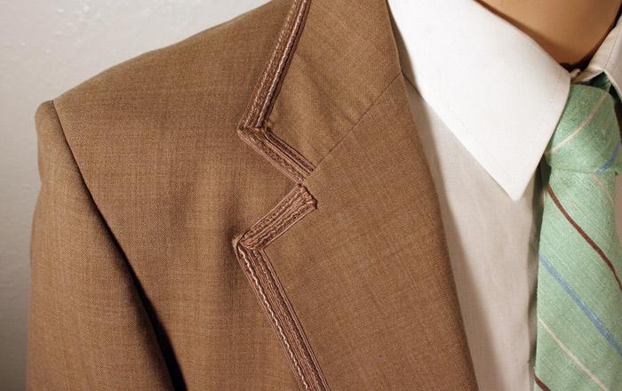 vintage dinner jacket detail