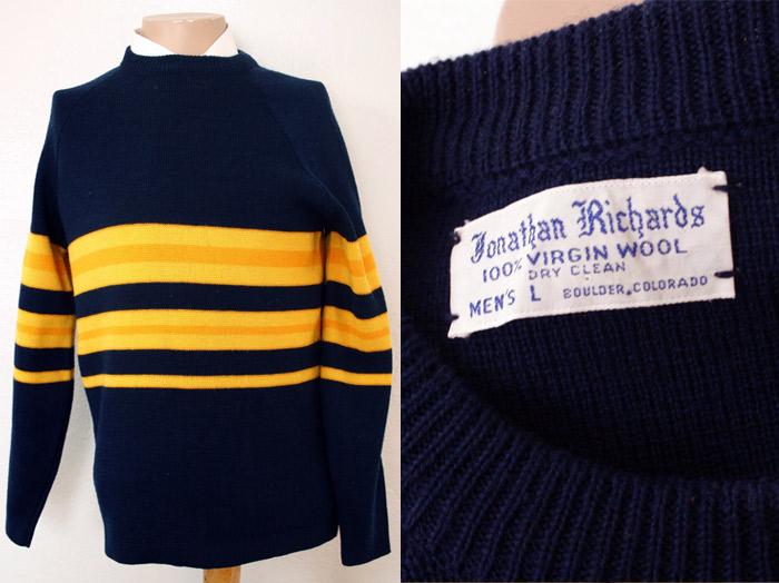 Vintage ski sweater