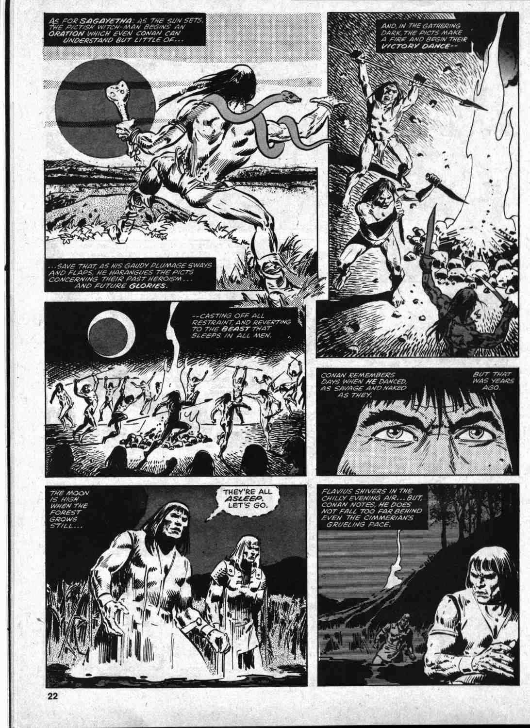 The Savage Sword Of Conan Issue #46 #47 - English 21