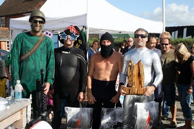 Challenge Take Place In East Wittering With 50 Fancy Dressed Surfers Competing And Hundreds Of Spectators Watching On The Beach A1Surf Retro