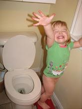 """""""I go poo poo on the potty!"""""""