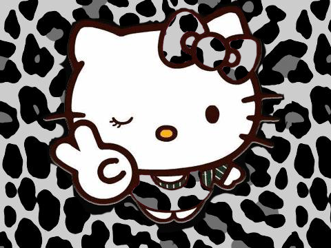 Hello Kitty Rock Wallpaper Print And Hello Kitty so i