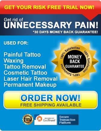 Numbing Cream for Laser Tattoo Removals