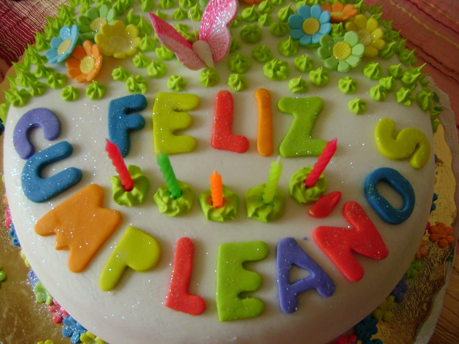 Jackie's Cake's: Torta Jardín Flores y Mariposas