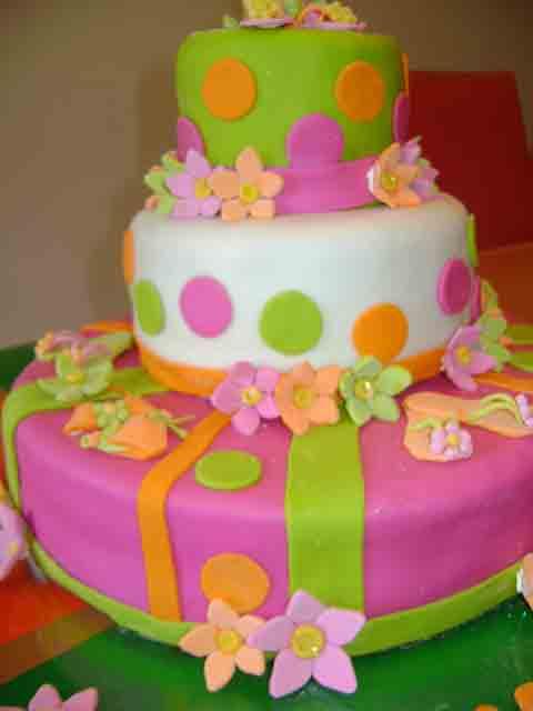 Trajes De Baño Vintage Caracas: Cake's: Torta Playera conToallas, Traje de baño, Cholitas y Flores