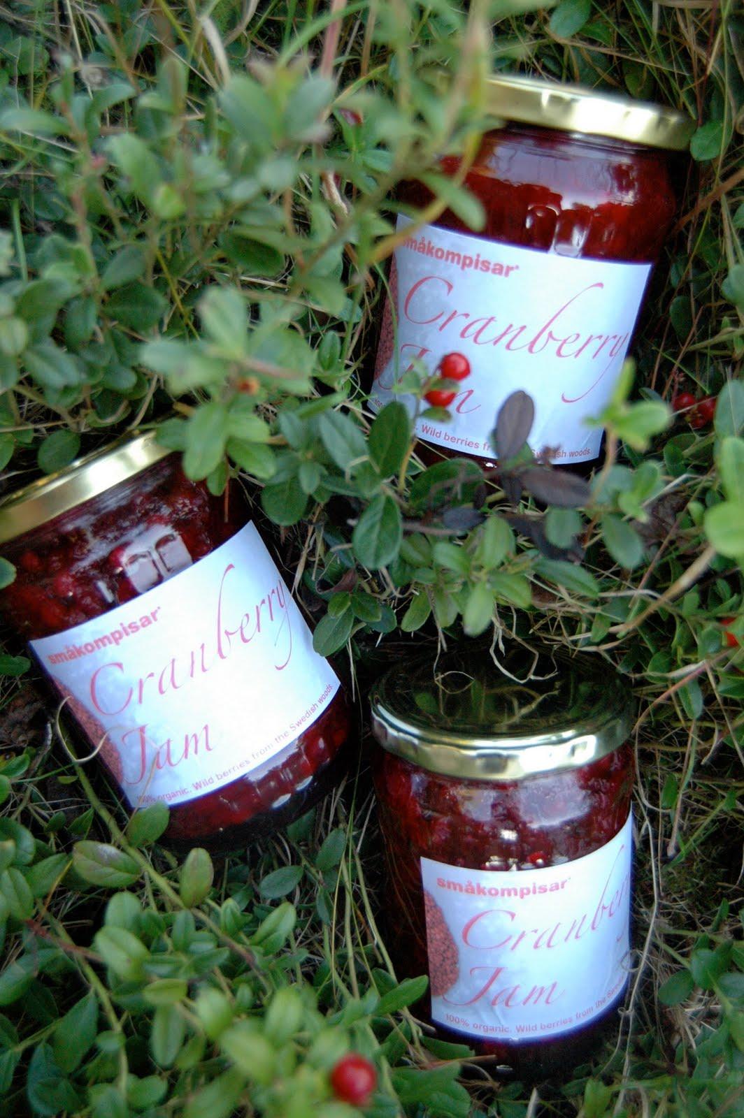 Småkompisar: Organic Lingonberry/Wild Mountain Cranberry Jam!