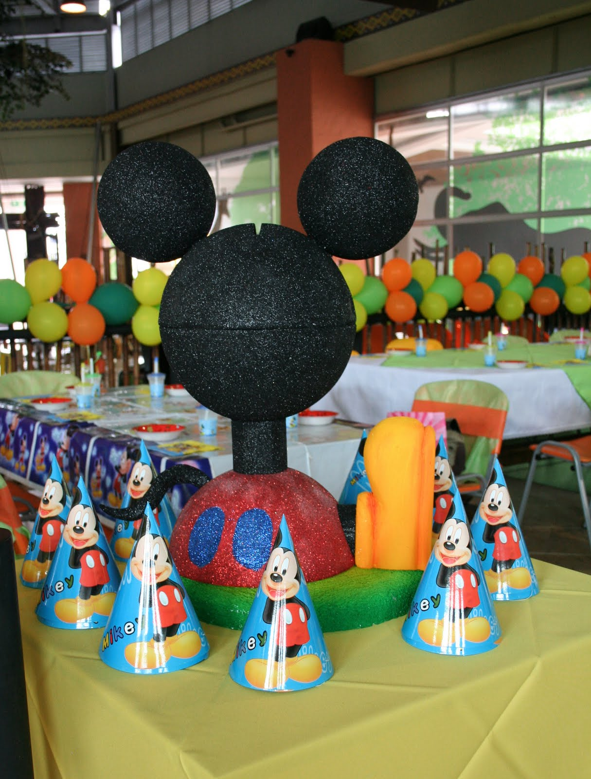 Decoración Mickey Mouse bebé - Imagui