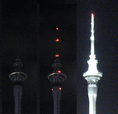 Auckland Sky Tower. The Sky Tower in Auckland
