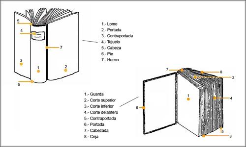 definicion libro parte: