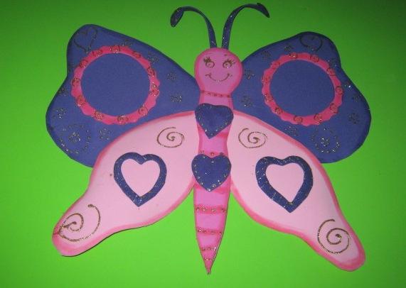 Mariposa hechas de foami - Imagui