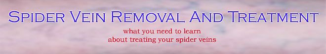 Spider Vein Removal And Treatment | Removal Creams That Work