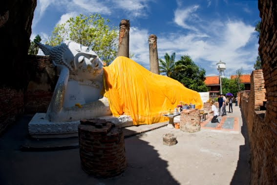 Imagen de Buda reclinado