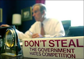 Don't steal, the government hates competition