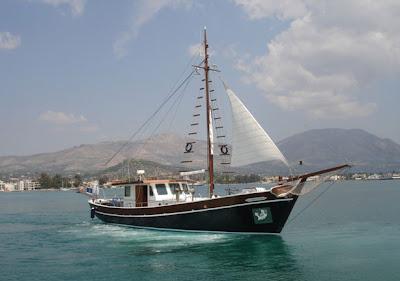 alquiler de goletas de lujo en Grecia
