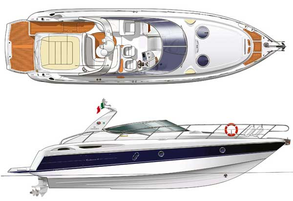 CRANCHI yacht rent in ibiza