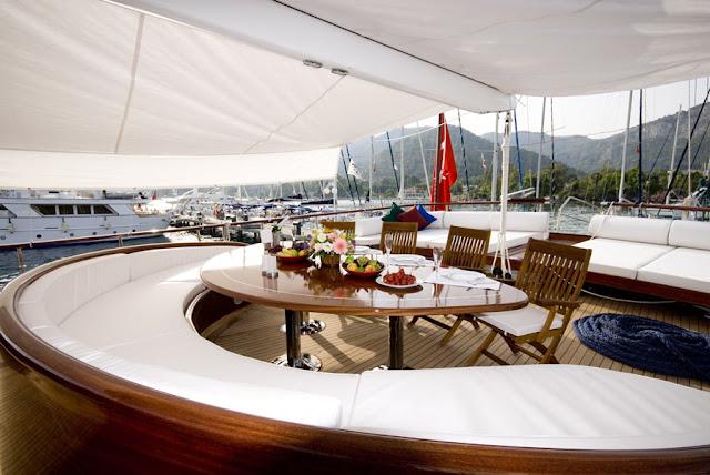 alquiler de goletas de lujo en Turquia