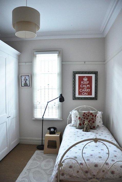 Ambiente Combinado GRANDES idéias para PEQUENOS quartos ~ Quarto Pequeno Jovem