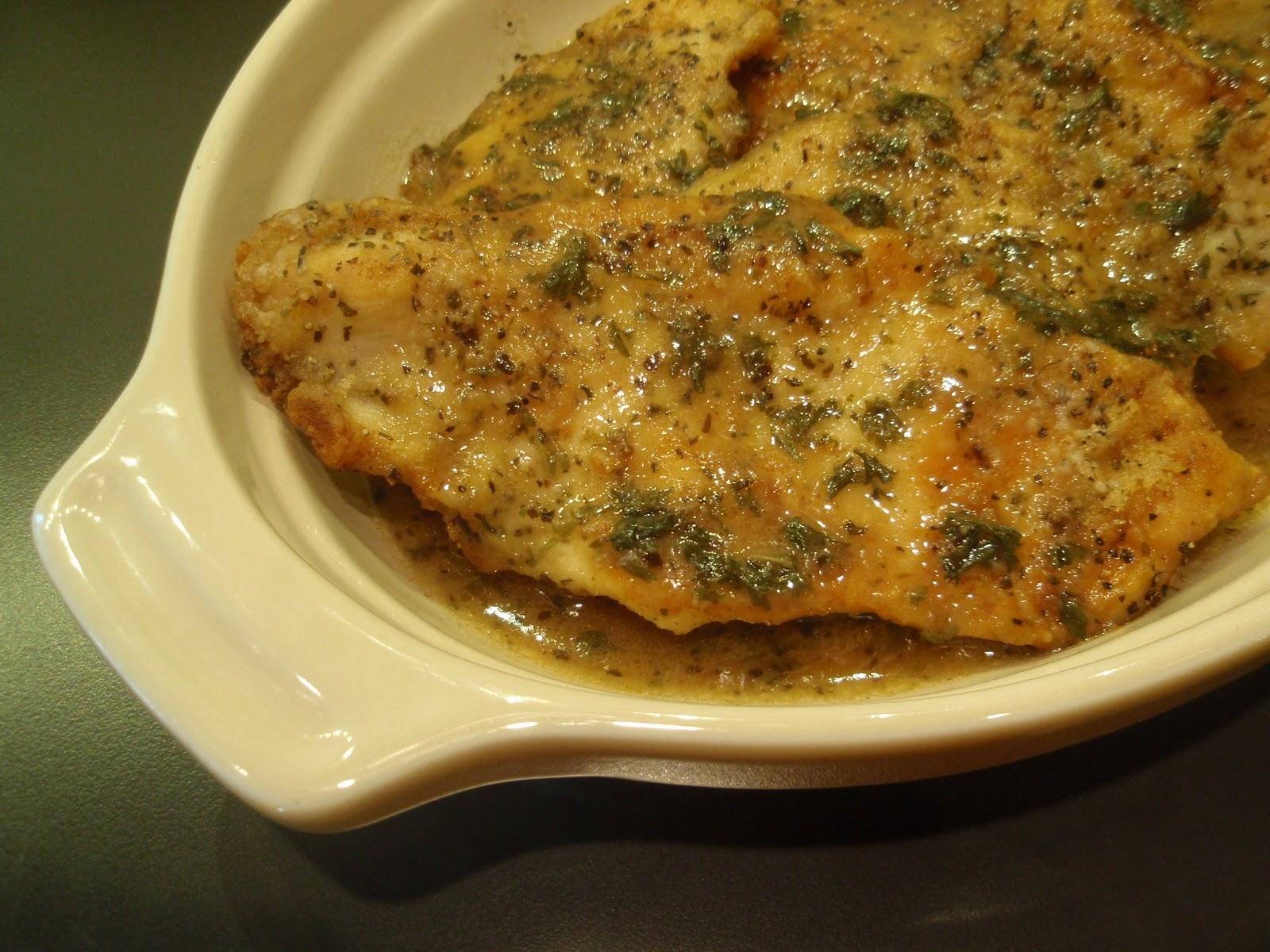 Chicken Scaloppine - My Kitchen Addictions