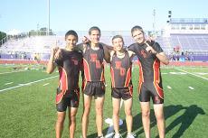 Boys 4 x 800 Team