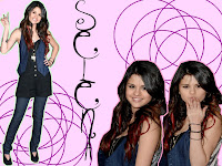 cute selena gomez wallpaper