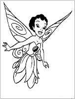 Fairy Iridessa Disney coloring page