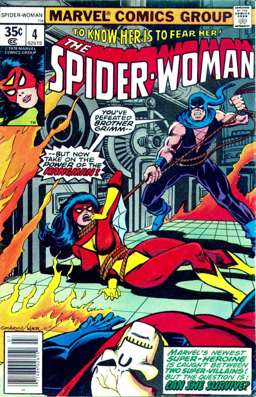 Spider-Woman (1978) Issue #4 #4 - English 1