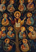 DOZE, 12, APÓSTOLOS, DISCÍPULOS, JESUS, HÓRUS