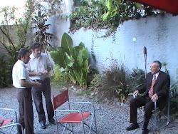 Domingo González (productor) Pancho Viecho y Roque Carrizo