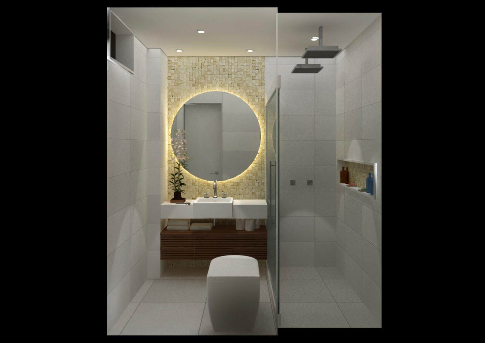 Banheiro De Suite Banheiro De Suite http://ambientandointeriores  #7F734C 1600 1132
