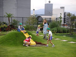 Brincando no jardim