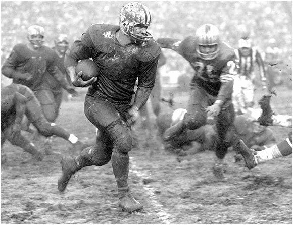 Mud games. Jimtaylor-1960-49ers
