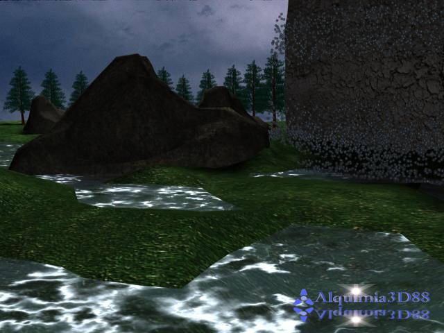 Cen Rio 3D Cachoeira