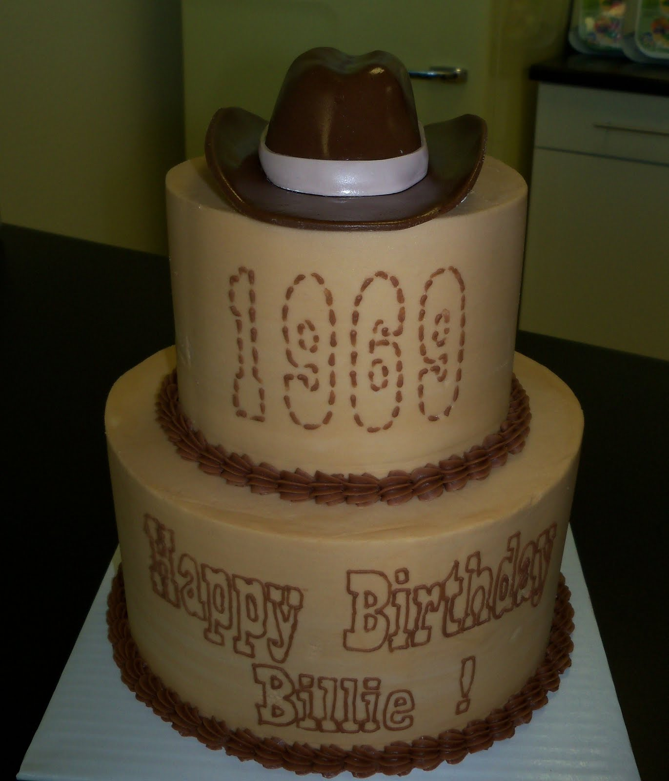 Cowboy Hat Template Cake Ideas
