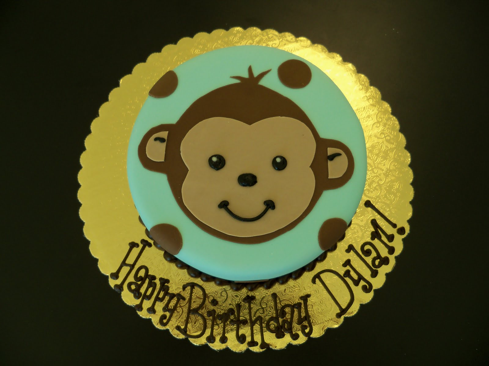 Monkey+birthday+cake.JPG (1600×1200) | Cakes | Pinterest