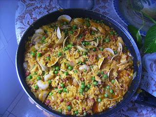 Paella mixta al estilo de jamie oliver cocina y for Cocina de jamie oliver