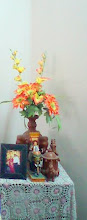 Kondapalli bomma(doll) at my Home and Terracotta Vase