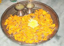 My Pooja thali