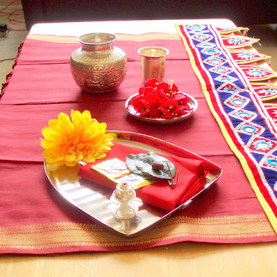 Ethnic Indian Decor My Photography And Coffee Dining Table Setting