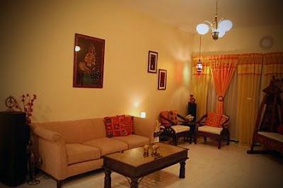 Indian ethnic room decor