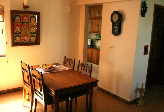 Ethnic indian decor an indian home in bangalore for Home design ideas hindi