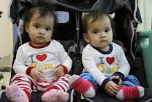 Baby Farah Ateesha & Baby Farah Natasha. :)