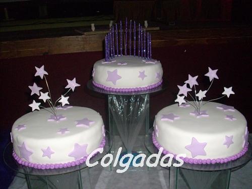 Tortas de quinceañeras en estrella - Imagui