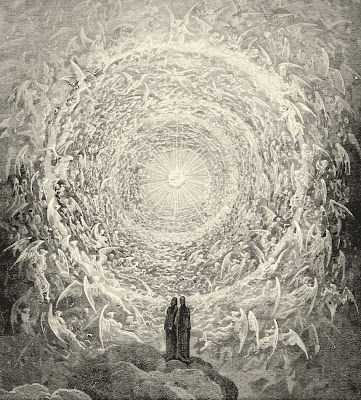 Dante in Paradise - Print by G Dore