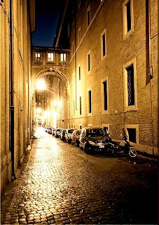 Quién me ve andar por la ciudad de Roma si todos están ciegos?