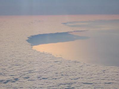 Banco di nuvole viste da Dio
