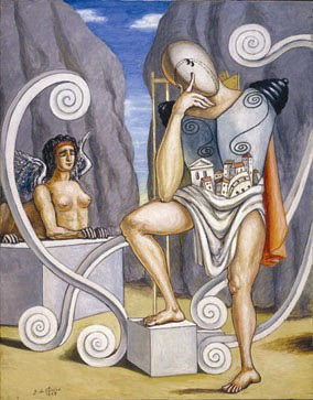 De Chirico: Edipo e la Sfinge