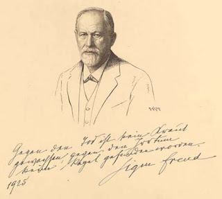 Sigmund Freud  by Kastor, 1925