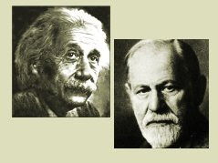 Einstein and Freud