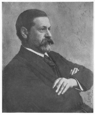Sigmund Freud in a photo he sent Carl Jung in 1906
